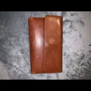 Large Fossil Wallet